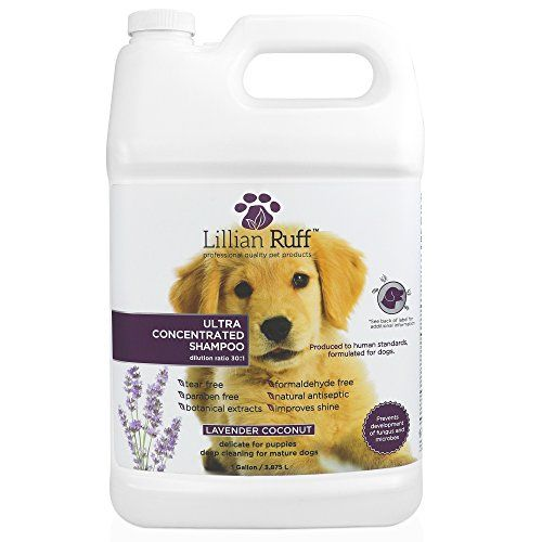 Lillian Ruff Professional Dog Shampoo Concentrated Dog Shampoo With Aloe Tear Free Lavender Coconut Scent Soothe Dog Shampoo Puppy Cleaning Dry Dog Shampoo