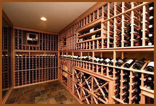 Through The Wall Wine Cellar Design Wine Cellar Diy Wine Cellar