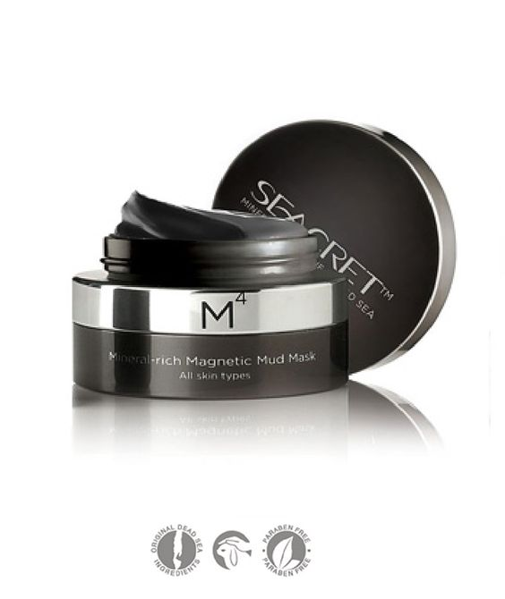 Size: 1.7 FL.OZ / 50ML  This revolutionary Mineral-rich Magnetic Mud Mask revives your skin through the power of Biomagnetism. As you run the magnet over your face, the iron powder in the mask is magnetized, creating microelectric currents that gently relax your skin. At the same time, Dead Sea...