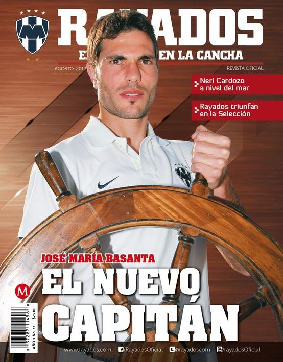 Agosto 2012 'Basanta, el nuevo capitán'