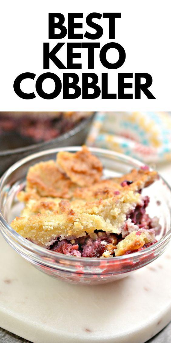 The Best Keto Cobbler