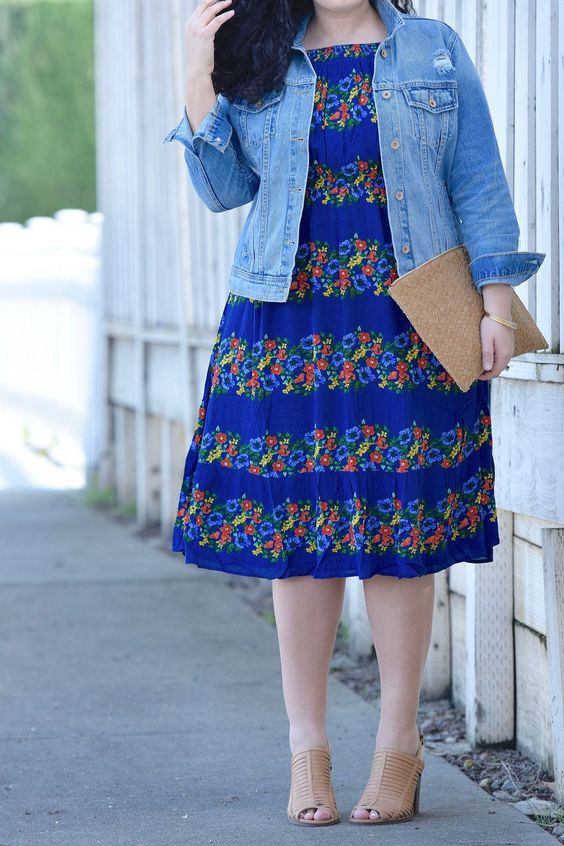 Modest Plus Size Summer Clothes