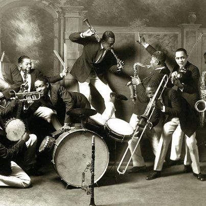 St. Louis Cotton Club Band, 1925.: