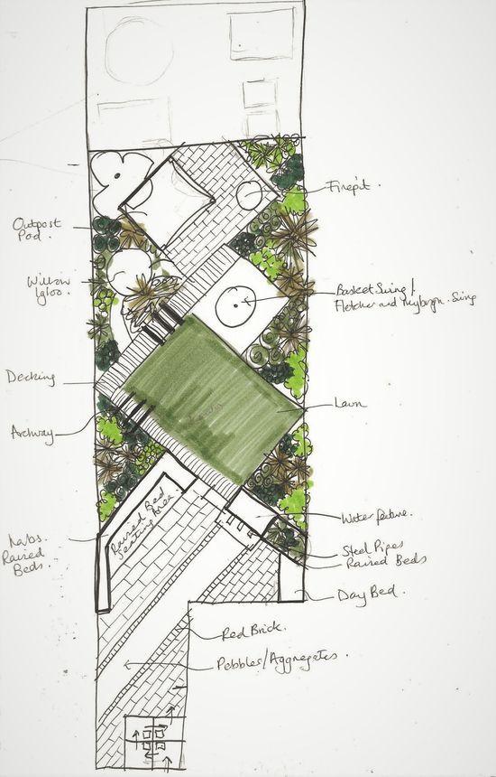 Garten Design Garden Design Plans Small Garden Design Narrow Garden