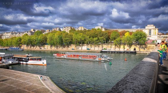 Seine River.Paris by Viktor Korostynski on 500px