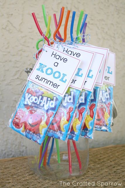 """Have a """"Kool"""" Summer - End of Year Goodbye Gift for Classmates; party favors"""