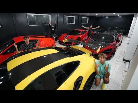 Insane Supercar Garage Collection Youtube Super Cars Luxury Cars Supercars Wallpaper