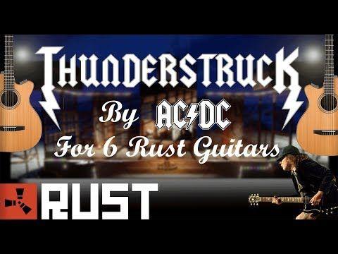 Manswine Youtube Songs Thunderstruck Guitar