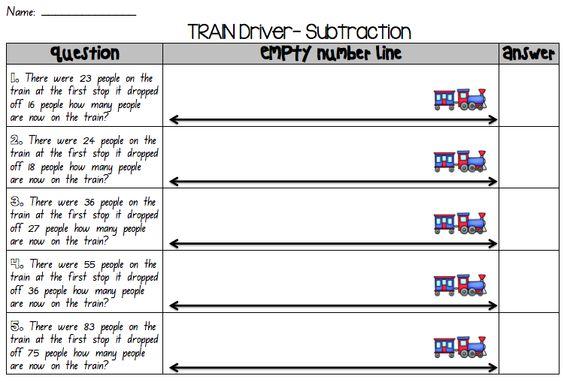 Addition Worksheets : blank number line addition worksheets Blank ...