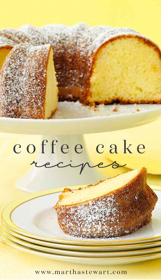 Coffee Cake Recipes | Recipe, Cake recipes and Breakfast