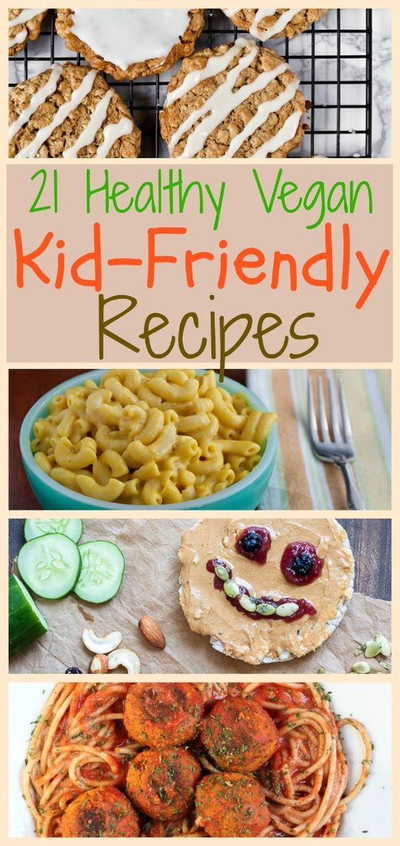 26 Healthy Vegan Recipes for Kids