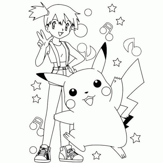 Free Printable Pokemon Pikachu Coloring Pages | Airsoft ...