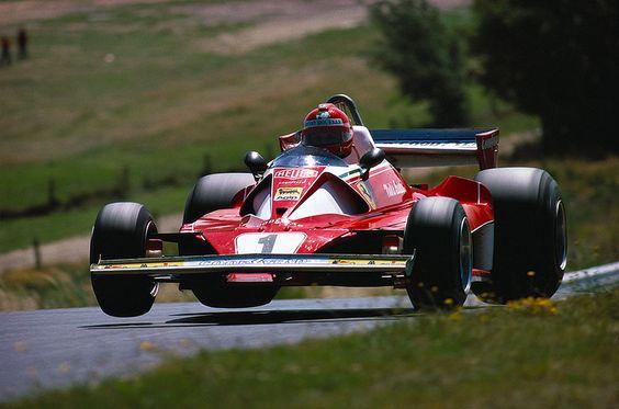 1976 Ferrari 312T2 (Niki Lauda) | 1976 Formuła 1 | Pinterest | Ferrari