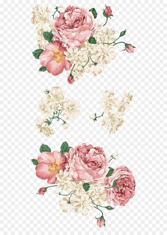 17 Flower Decal Dusty Rose Png Imagem Floral Convites De Casamento Artesanais Molduras Casamento