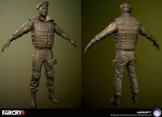 ArtStation - Far Cry 4 Royal Guard Charger, Sebastien Giroux
