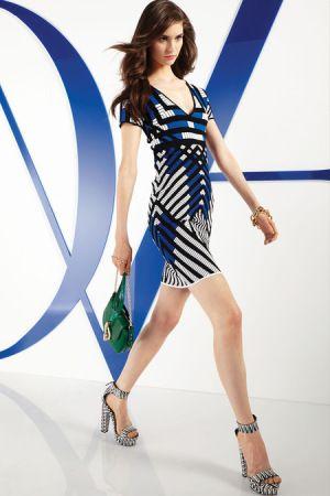 Tendência estampas P: Diane Von Furstenberg| Resort 2014