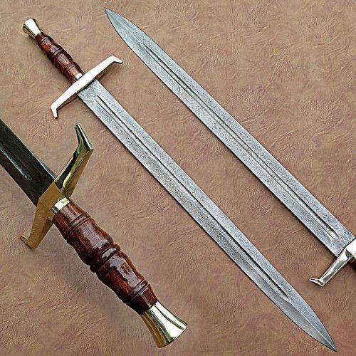 Arabian Sword Roman Sword Renaissance GOT Prop Halloween Accessory 27 Inches
