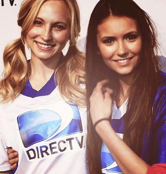 Nina Dobrev and Candice Accola from The Vampire Diaries ...
