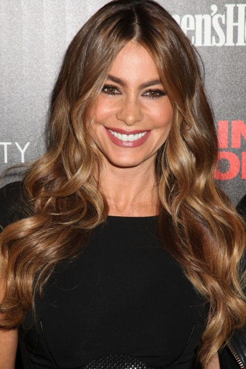 Sofia Vergara Does Endless Waves At The 'Fading Gigolo' New York Screening, 2014