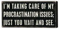 eventually!