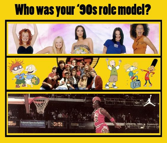 1990's... ahh spice girls and rugrats and doug....
