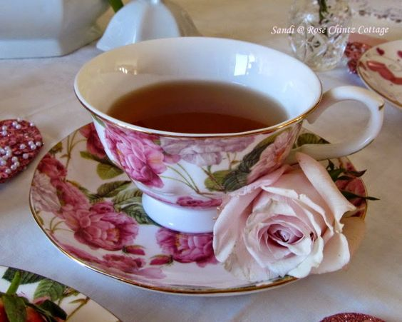 Rose Chintz Cottage: Tea Time and Confession Time