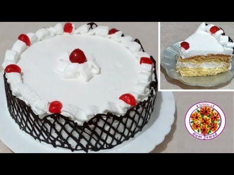 حلوة لاكريم كيكة بالكريم شانتيه خفيفة ولذيذة خطوة بخطوة للمبتدئات K Food Cake Desserts