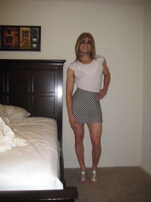 Wearing My Skirt 16
