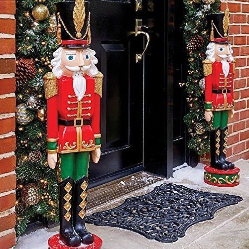 Toy Soldier Christmas Entryway 36 Large Outdoor Yard Nutcracker Statue Figure Toysoldierchristmas