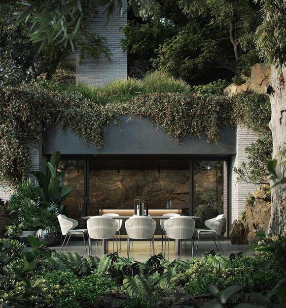 Biophilic  Sustainable Interior Design · Biophilic moodboards: outdoor views · DforDesign
