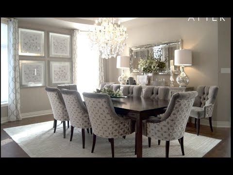 Dining Room Makeover Kimmberly Capone Interior Design Youtube Dinning Room Chairs Dining Room Makeover Farmhouse Dining Room
