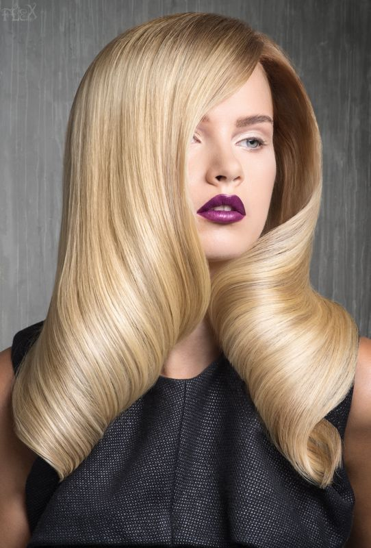 Coiffure Longue En Rouleau Coiffure Longue Coiffure Cheveux Long