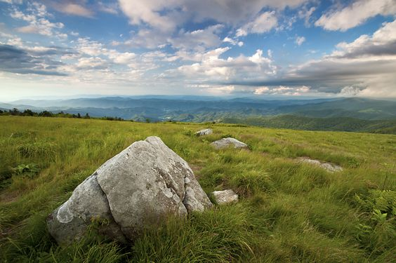 Engine Gap on the Roan Highlands, NC. Photographed by Brent McGuirt.