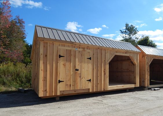 Best 12×20 Weekender Shed Example Shows Optional Ash Gray 640 x 480