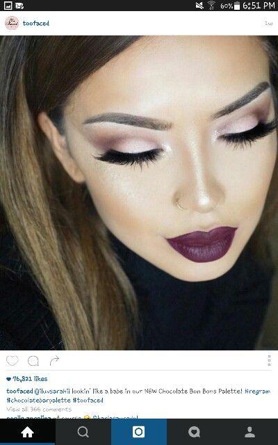@TooFaced instagram  makeup look