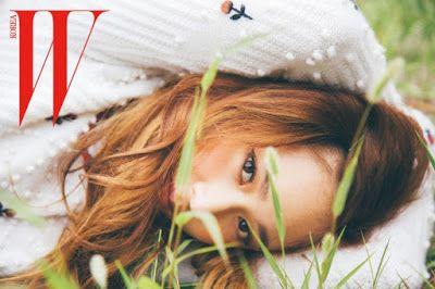 Krystal f(x), EXO Kai and SHINee Tae Min - W Magazine August Issue 2015