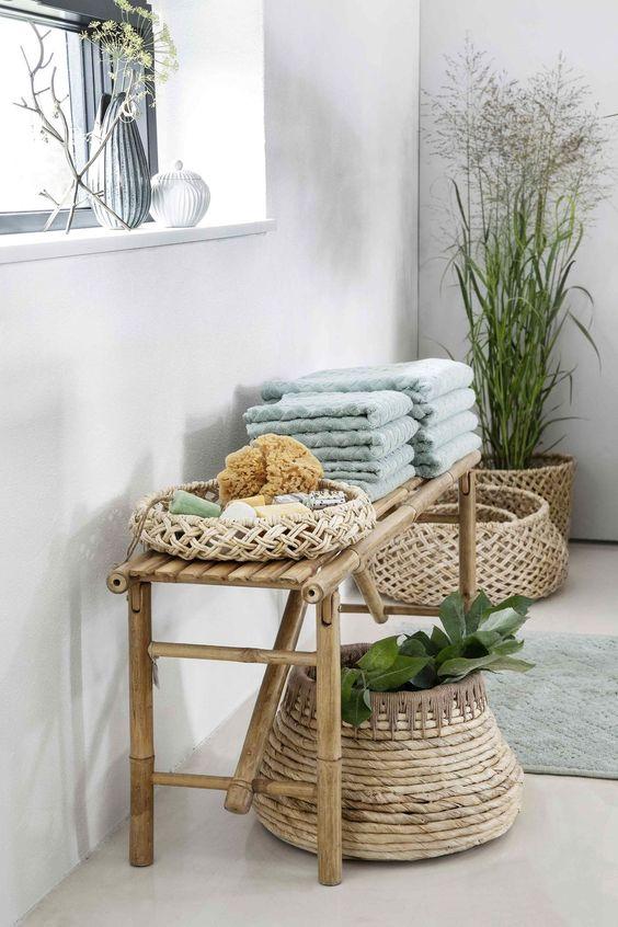 Panier rotin ou fibres tressées : sélection shopping pour l'adopter - Côté Maison