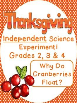 thanksgiving independent science experiment cranberries 3 days morning work thanksgiving. Black Bedroom Furniture Sets. Home Design Ideas