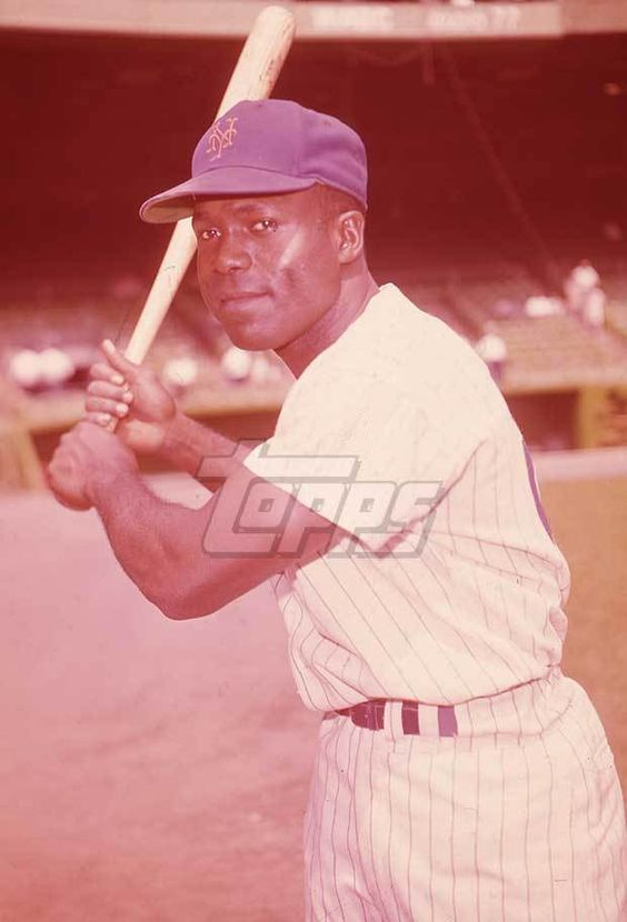 1962 Topps Baseball Original Color Negative. Joe Christopher METS