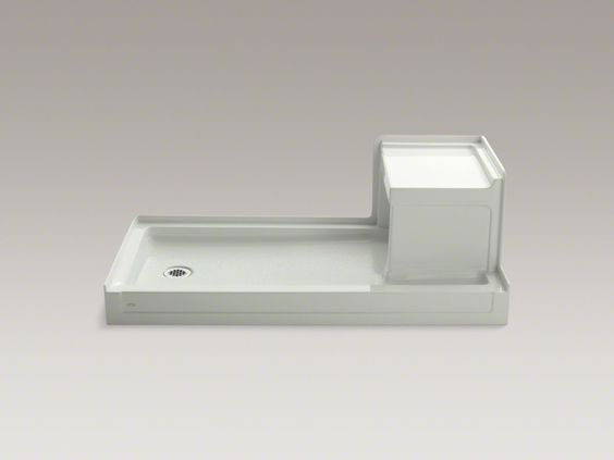Shower Pans With Seat : Replace tub with shower base and seat caravan rv