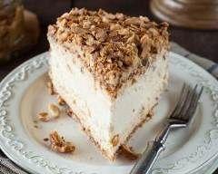 Cheesecake surprise en croûte de noix et amandes : http://www.cuisineaz.com/recettes/cheesecake-surprise-en-croute-de-noix-et-amandes-79138.aspx