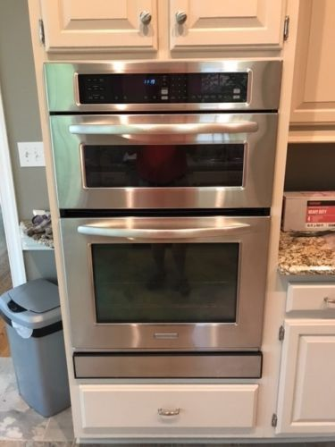 kitchen aid convection oven microwave