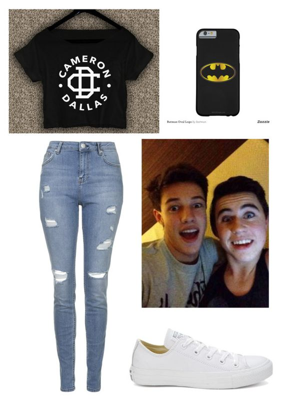 """""""Meeting Nash & Cameron"""" by jordan-shaw1 ❤ liked on Polyvore featuring moda, Topshop y Converse"""