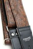 Couch Straps - Brown Western Guitar Strap