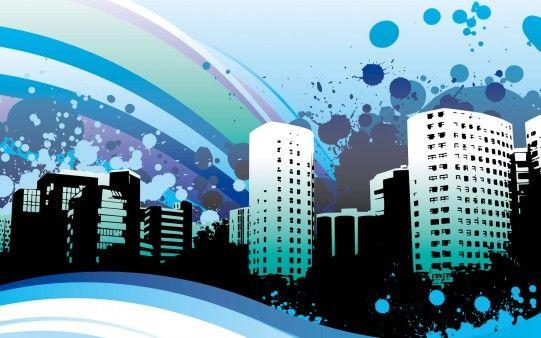 Ciudad Llena de Color