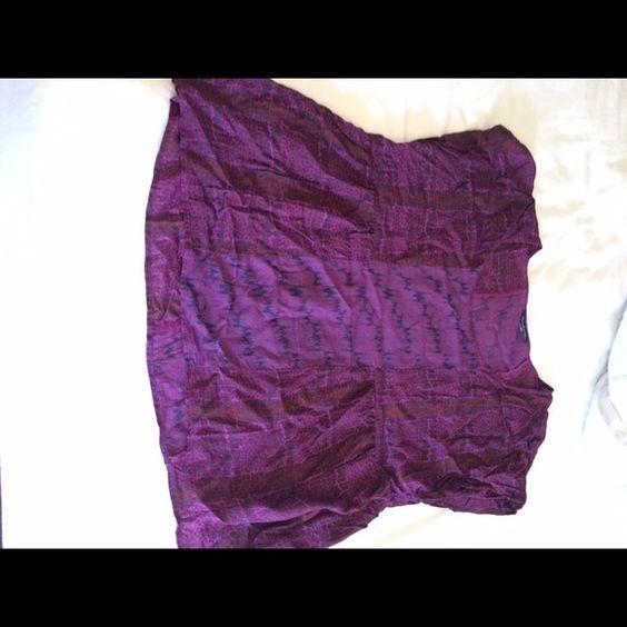 Purple Blouse Large purple blouse- American Eagle. American Eagle Outfitters Tops Blouses