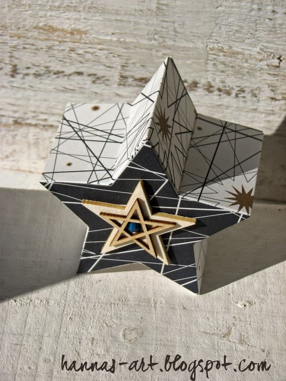 Hannas Art: befüllbare Sternbox VARIANTE II