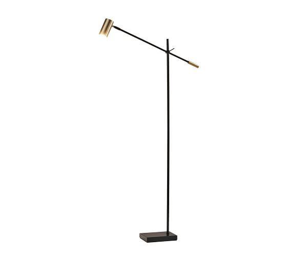 Ridge Led Task Floor Lamp Task Floor Lamp Floor Lamp Glass Floor Lamp
