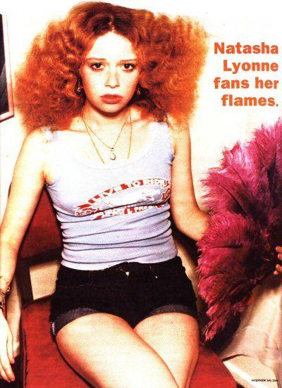 Natasha Lyonne fans her flames.