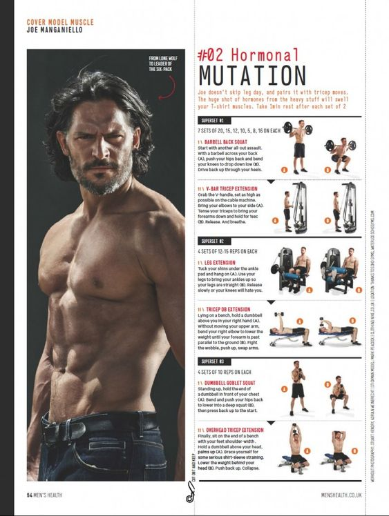 Joe Manganiello Shares Workout Tips for Mens Health UK September 2014 Cover Story image Joe Manganiello Workout 002 800x1062